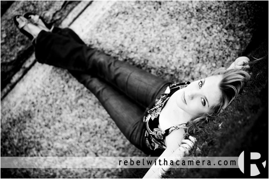 Kaylyn's senior portraits at Rebel With A Camera studio in Austin, Texas and in downtown Austin