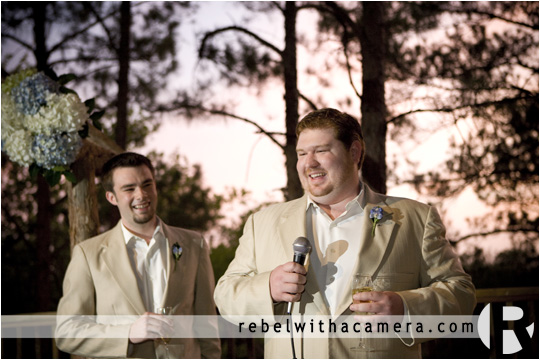 Bo and Stephanie's wedding photography at Angel Mountain in Bastrop, TX