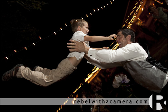 Wild and crazy mechanical bull riding wedding in Columbus Texas for Bret and Estella.
