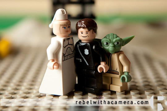 photos of a Lego Star wars wedding at my house in Austin, Texas.  The kids set it all up in their room and asked me to take photographs of their lego star wars wedding which I was happy to do.  Yoda and Obi wan and Darth Vader were all there at the lego star wars wedding.  I'm not really sure who the bride and groom where but I gathered they had allied themselves with strange fellows.