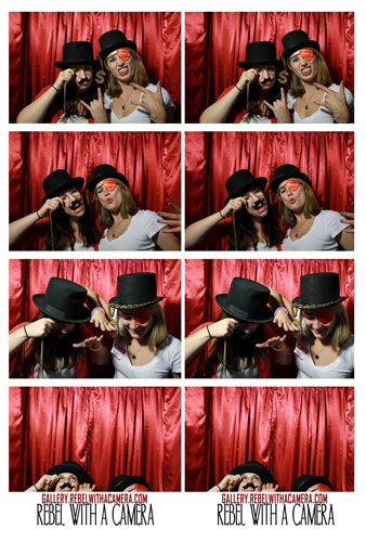 Austin photo booth by Rebel with a Camera