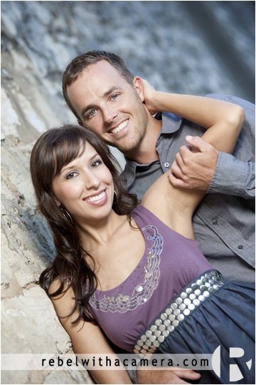 Brandy and Travis' Engagement Pictures in Taylor, Texas.
