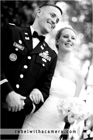 Ben and Emily's beautiful wedding photos at Hamilton Twelve in South Austin.  Hamilton twelve military wedding photographs  Best meal at a wedding venue.  Hamilton 12 chef is the best in Austin.