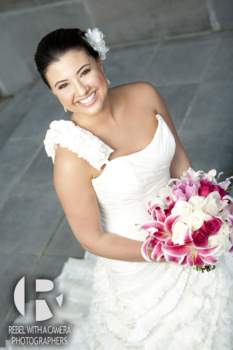 Dramatic and fabulous bridal portraits at Rice University in Houston