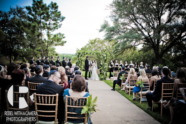 Kim and Dave's wedding pictures at the four seasons hotel in austin texas.  Outdoor wedding ceremony at the four seasons in austin.  wedding reception photographs at the four seasons.