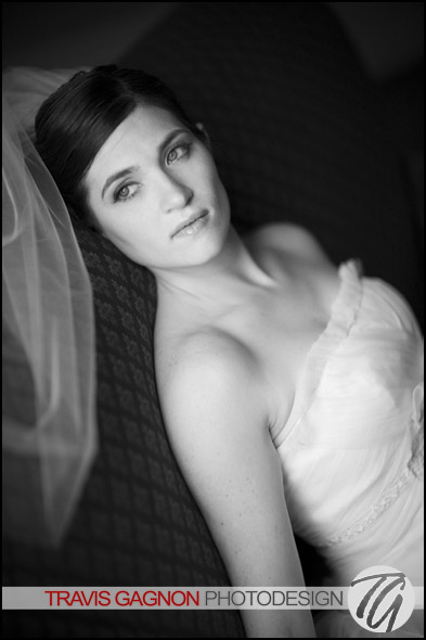 Claire's bridal portrait at the Driskill hotel in Austin, Texas